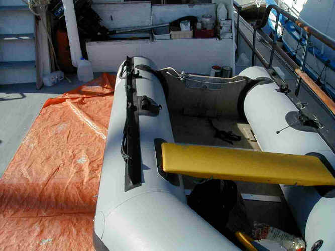 inflatable boat restoration